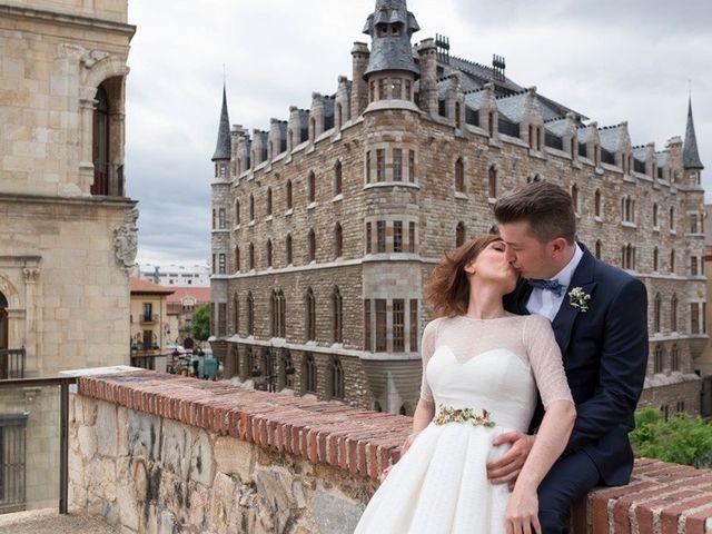 La boda de Thomas y Alba en Cembranos, León 14