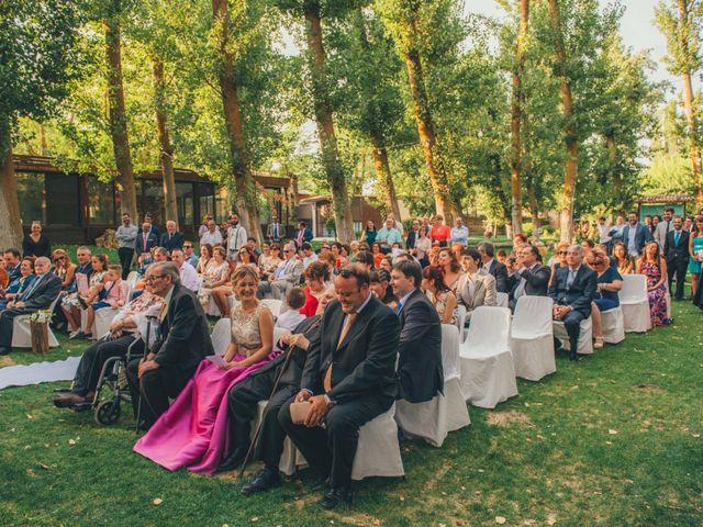 La boda de Martín y Coral en Saelices, Cuenca 29