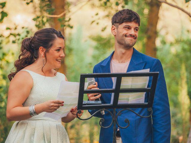 La boda de Martín y Coral en Saelices, Cuenca 35