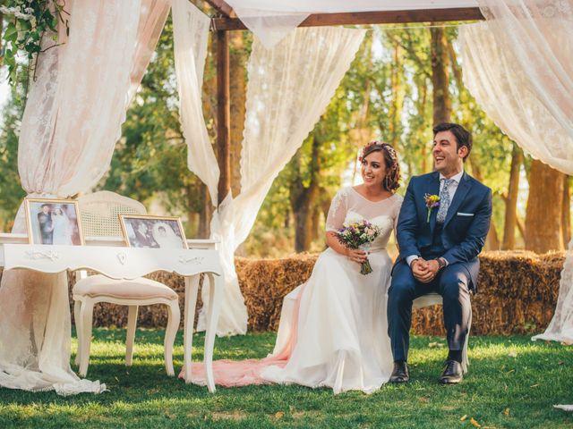 La boda de Martín y Coral en Saelices, Cuenca 38