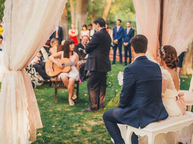 La boda de Martín y Coral en Saelices, Cuenca 44