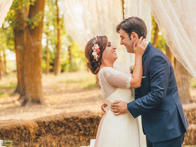 La boda de Martín y Coral en Saelices, Cuenca 50