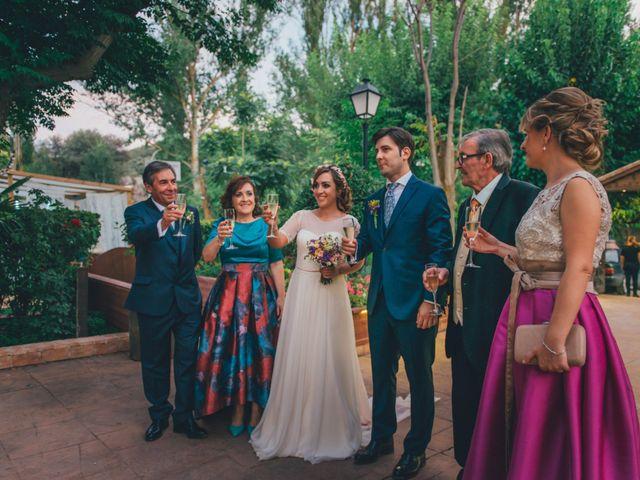 La boda de Martín y Coral en Saelices, Cuenca 71