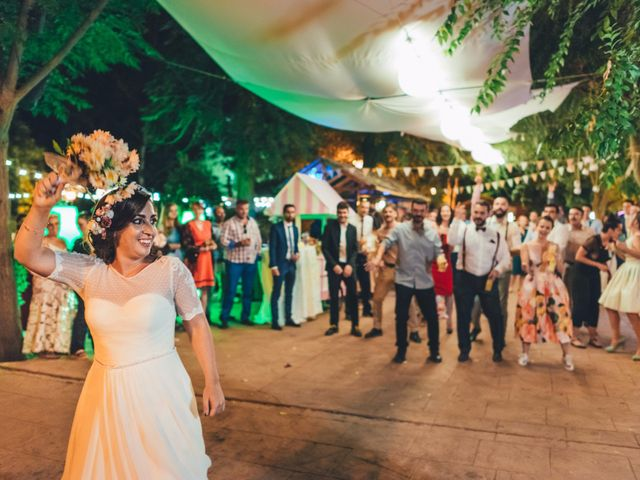 La boda de Martín y Coral en Saelices, Cuenca 100