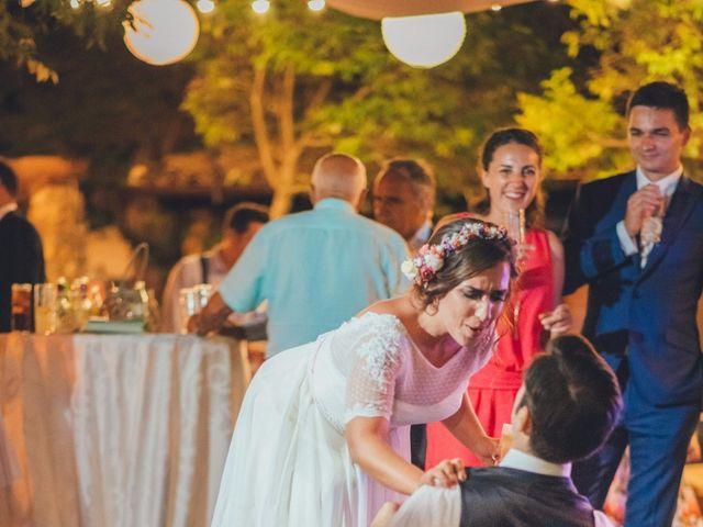 La boda de Martín y Coral en Saelices, Cuenca 106