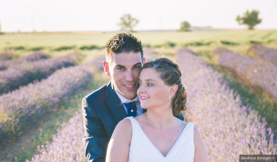 La boda de Rober y Marta en Tiedra, Valladolid