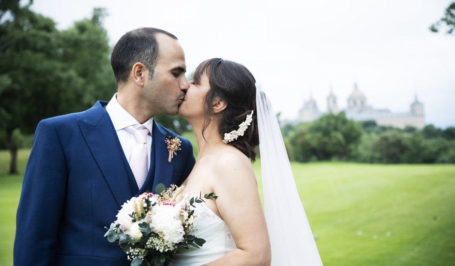 La boda de Chema  y Athenea en San Lorenzo De El Escorial, Madrid