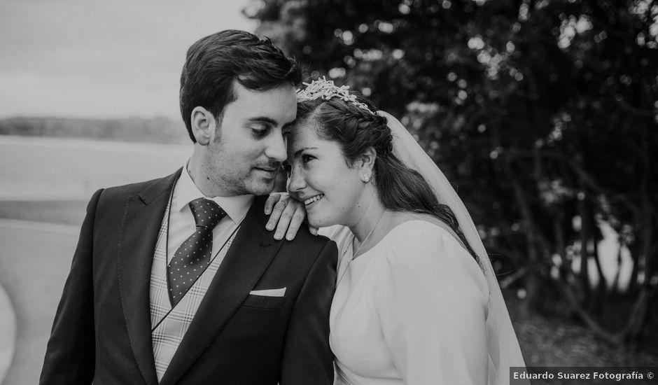 La boda de Adrian y Lucia en San Cucao, Asturias