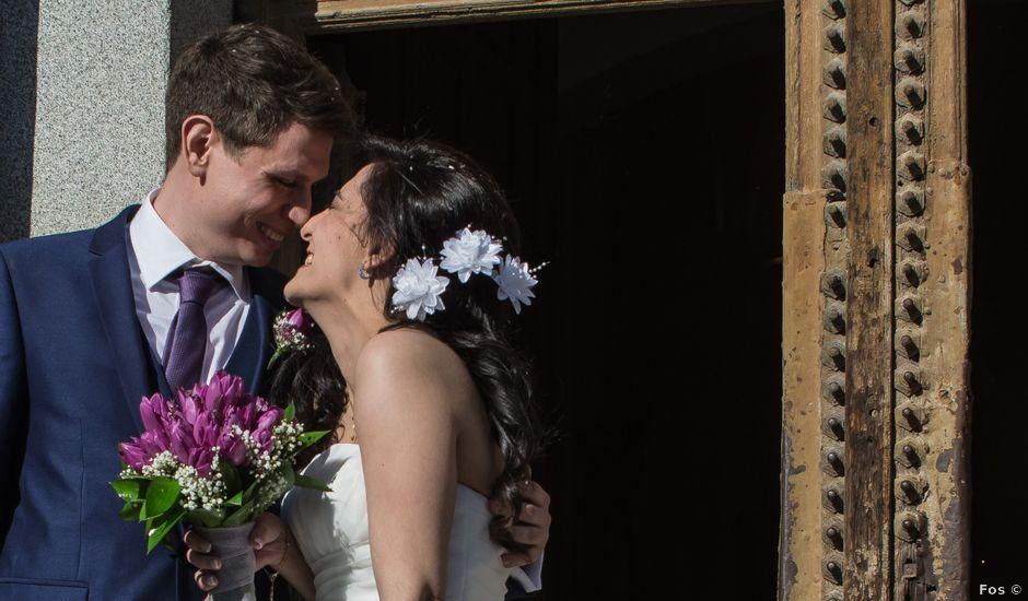 La boda de Mark y Marta en Chinchon, Madrid