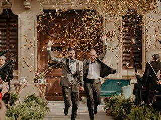 La boda de David y Luis