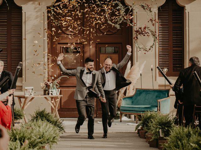 La boda de Luis y David en Gironella, Barcelona 43