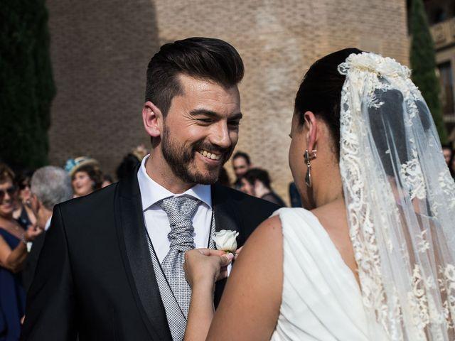 La boda de Miguel y Meritxell en Castejon, Navarra 8
