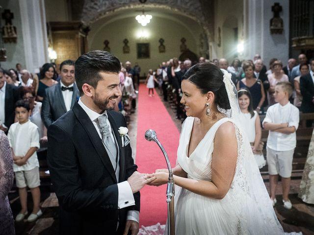 La boda de Miguel y Meritxell en Castejon, Navarra 9