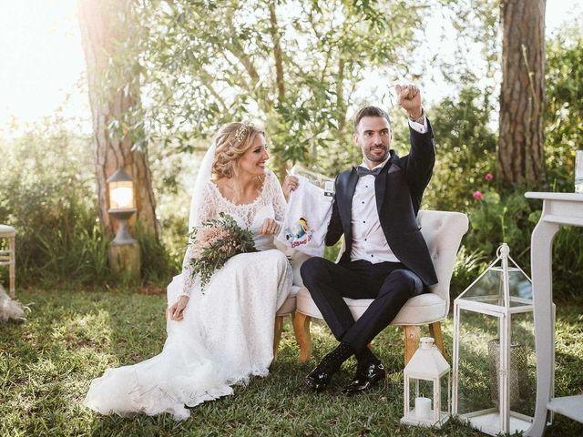 La boda de Pablo y Bea en Vejer De La Frontera, Cádiz 87