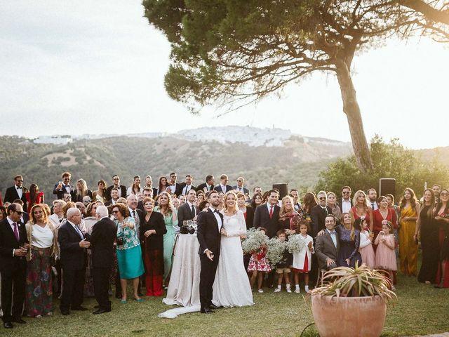 La boda de Pablo y Bea en Vejer De La Frontera, Cádiz 125