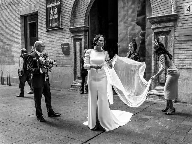 La boda de Fernando y Laura en Zaragoza, Zaragoza 14