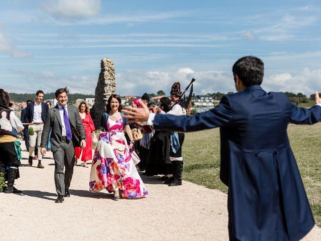 La boda de Ignacio y Marta en San Vicente De El Grove, Pontevedra 42