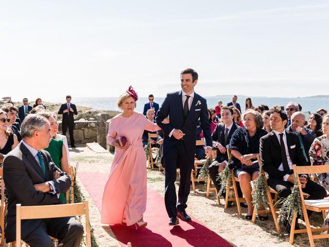 La boda de Ignacio y Marta en San Vicente De El Grove, Pontevedra 45