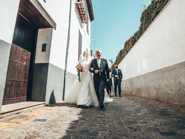 La boda de Laura y Pedro en Granada, Granada 22