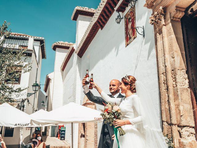 La boda de Laura y Pedro en Granada, Granada 32