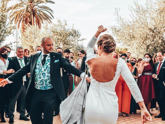 La boda de Laura y Pedro en Granada, Granada 55