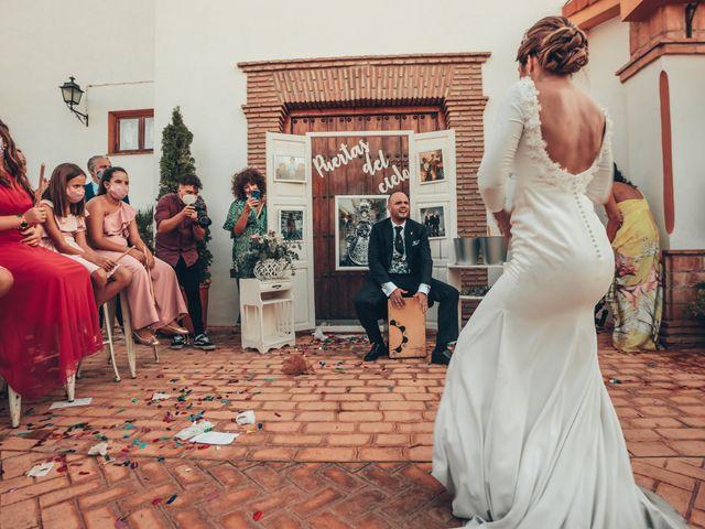 La boda de Laura y Pedro en Granada, Granada 56