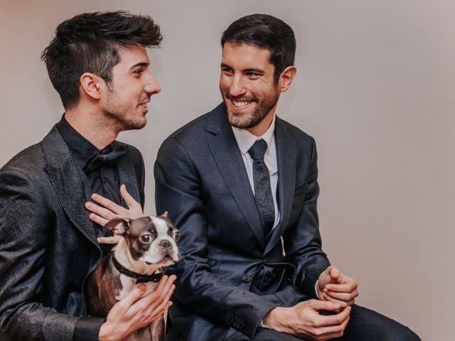 La boda de Ángel y Daniel