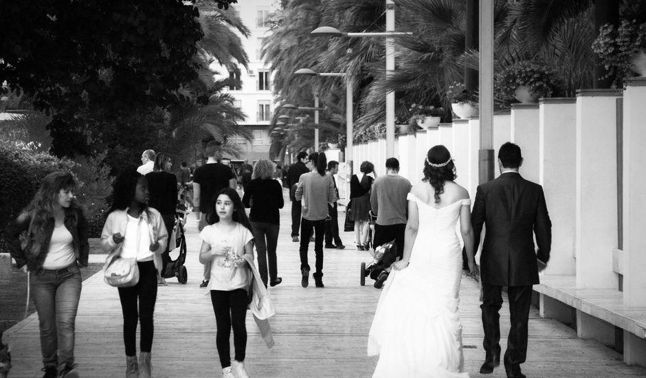 La boda de David y Leles  en Elx/elche, Alicante