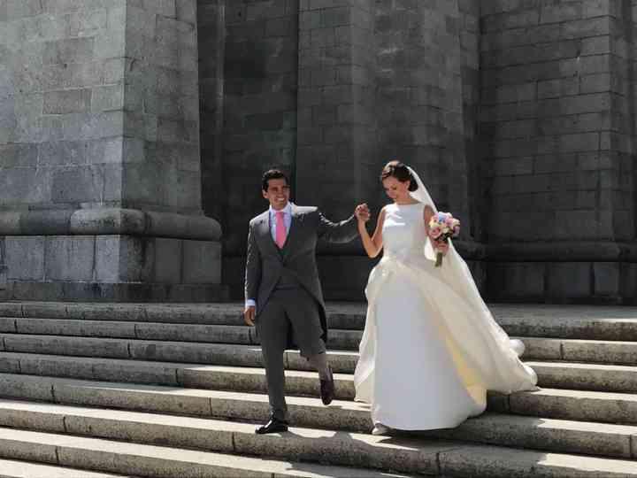 La boda de Estefania  y David