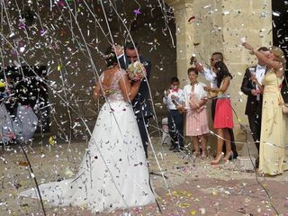La boda de Lara  y Samper  1
