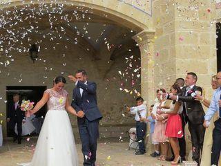 La boda de Lara  y Samper  2