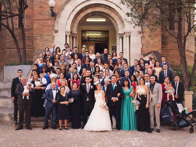 La boda de Adrián y Patricia en L' Hospitalet De Llobregat, Barcelona 80
