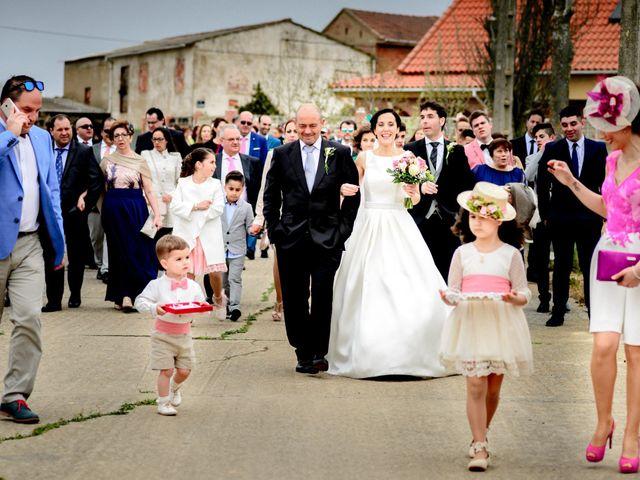 La boda de David y Almudena en Benavente, Zamora 18