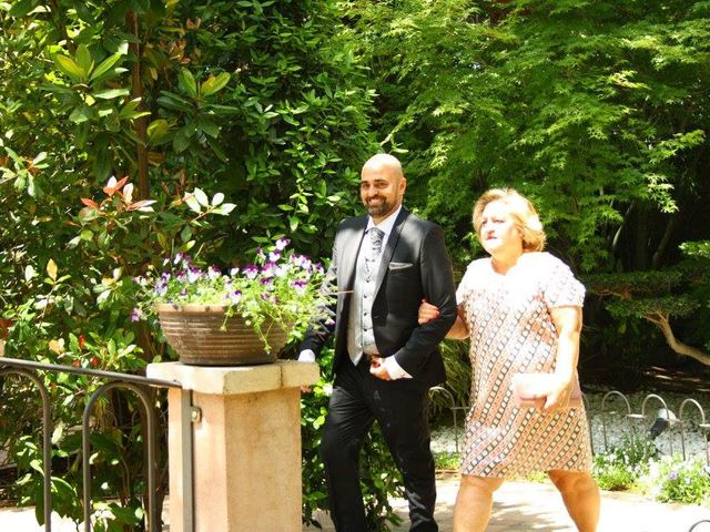 La boda de David y Estibaliz en Guadarrama, Madrid 1