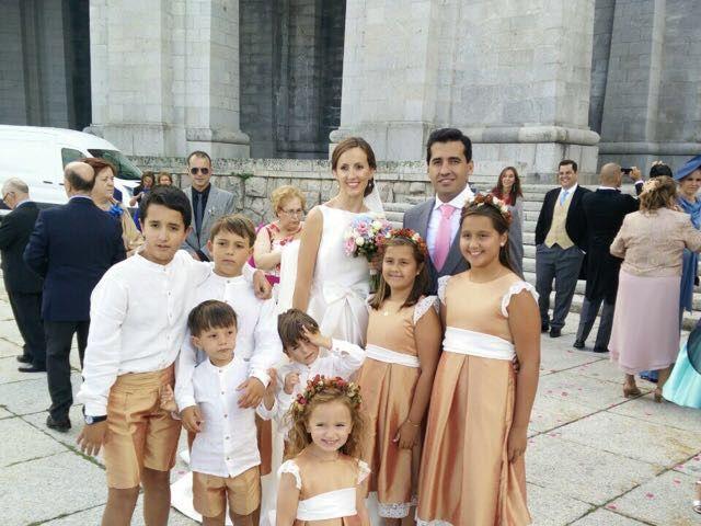 La boda de David  y Estefania  en Sta Cruz Valle De Los Caidos, Madrid 3