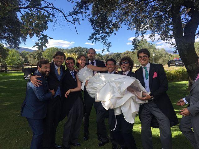 La boda de David  y Estefania  en Sta Cruz Valle De Los Caidos, Madrid 4