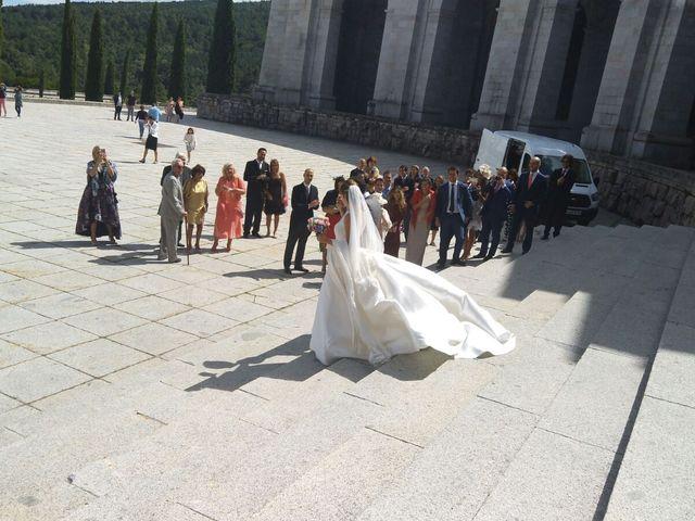 La boda de David  y Estefania  en Sta Cruz Valle De Los Caidos, Madrid 1