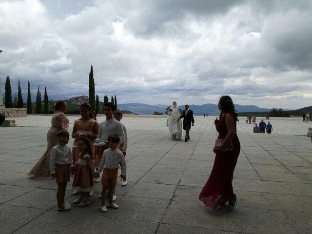 La boda de David  y Estefania  en Sta Cruz Valle De Los Caidos, Madrid 5