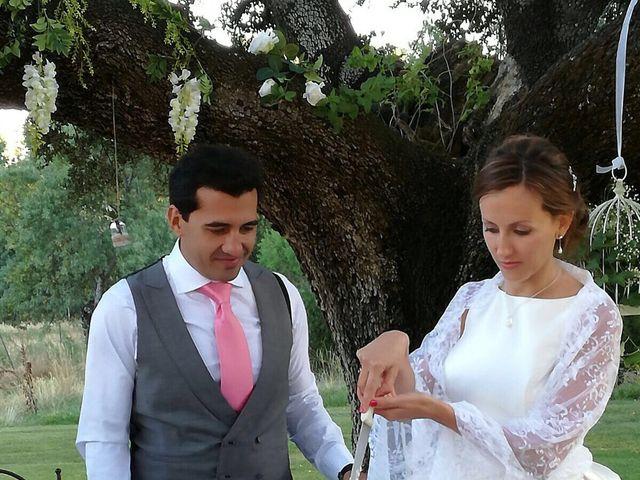 La boda de David  y Estefania  en Sta Cruz Valle De Los Caidos, Madrid 6