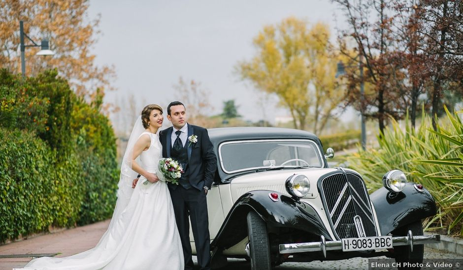 La boda de Daniel y Almudena en Algete, Madrid