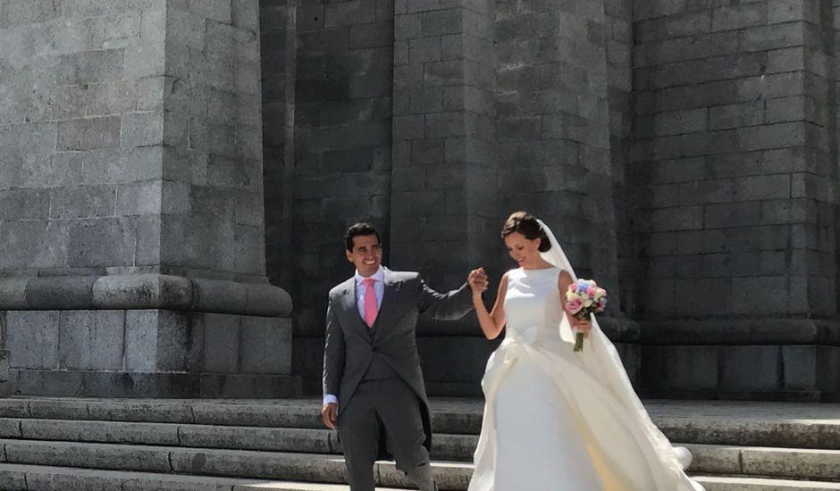 La boda de David  y Estefania  en Sta Cruz Valle De Los Caidos, Madrid