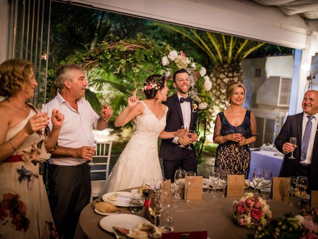 La boda de Saul y Alba en Aspe, Alicante 144