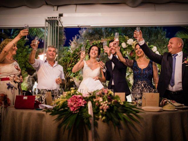 La boda de Saul y Alba en Aspe, Alicante 148