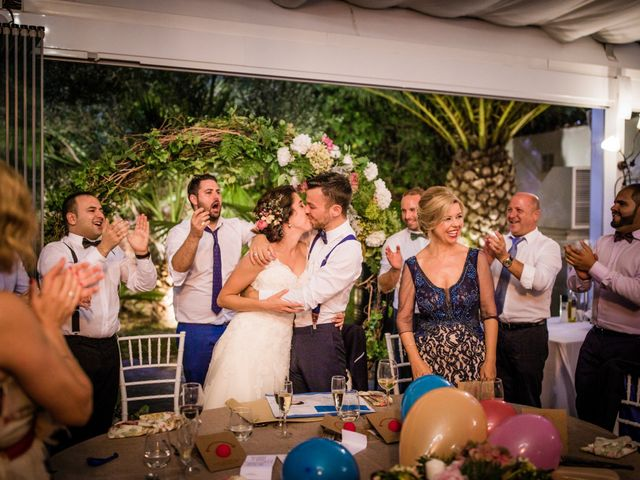 La boda de Saul y Alba en Aspe, Alicante 180