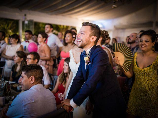 La boda de Saul y Alba en Aspe, Alicante 206