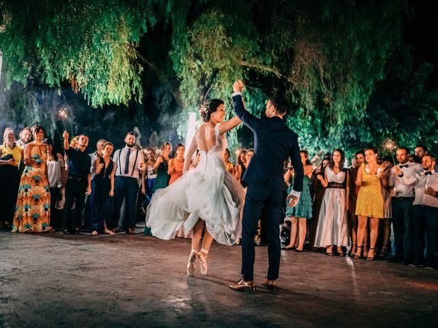 La boda de Saul y Alba en Aspe, Alicante 225