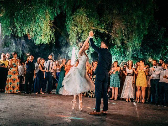 La boda de Saul y Alba en Aspe, Alicante 226