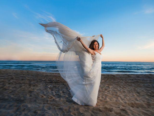 La boda de Saul y Alba en Aspe, Alicante 2