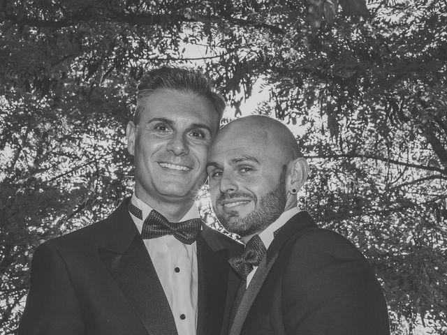 La boda de Francisco y Manuel