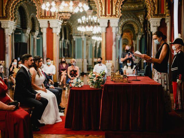 La boda de Samuel y Ana en Bilbao, Vizcaya 1